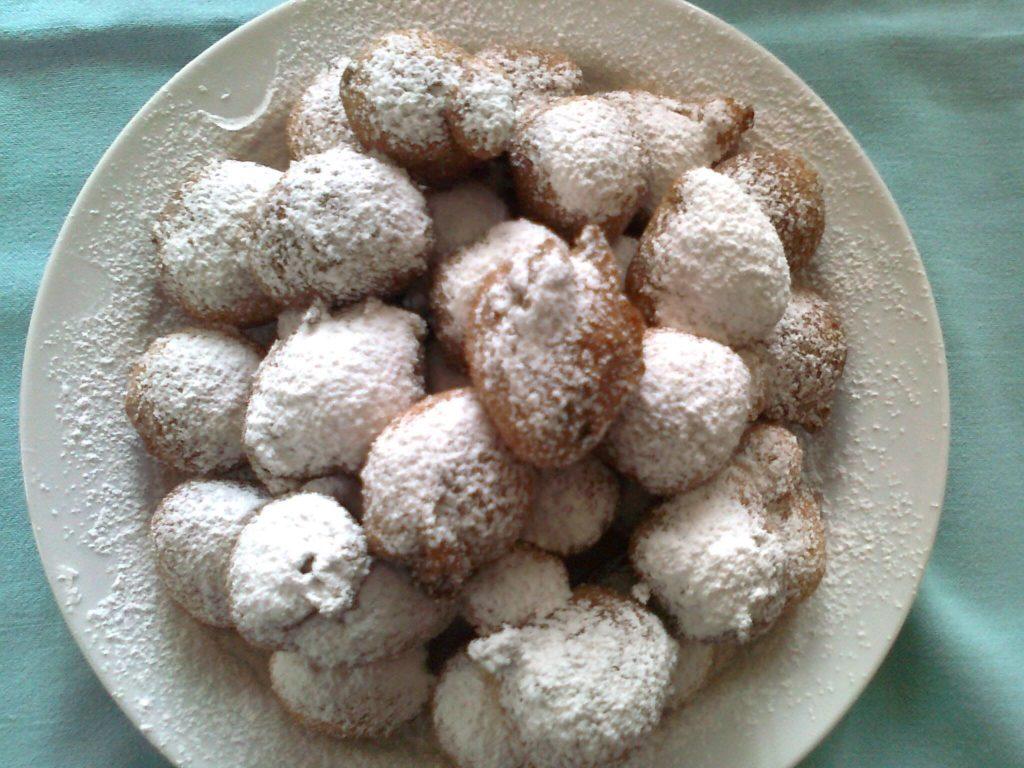 frittelle di carnevale Venezia