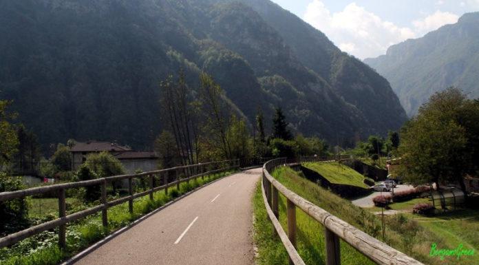 ciclabile della Val Brembana