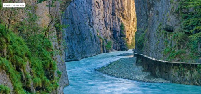 pista ciclabile sul fiume Aare