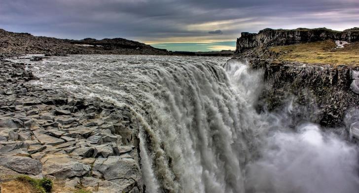 La cascata di Dettifoss