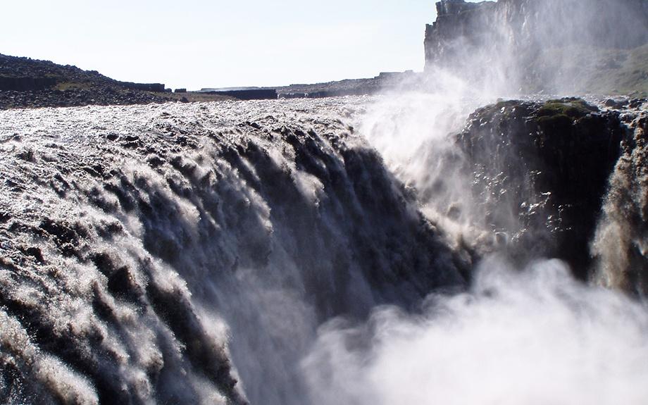 La cascata di Dettifoss in Islanda