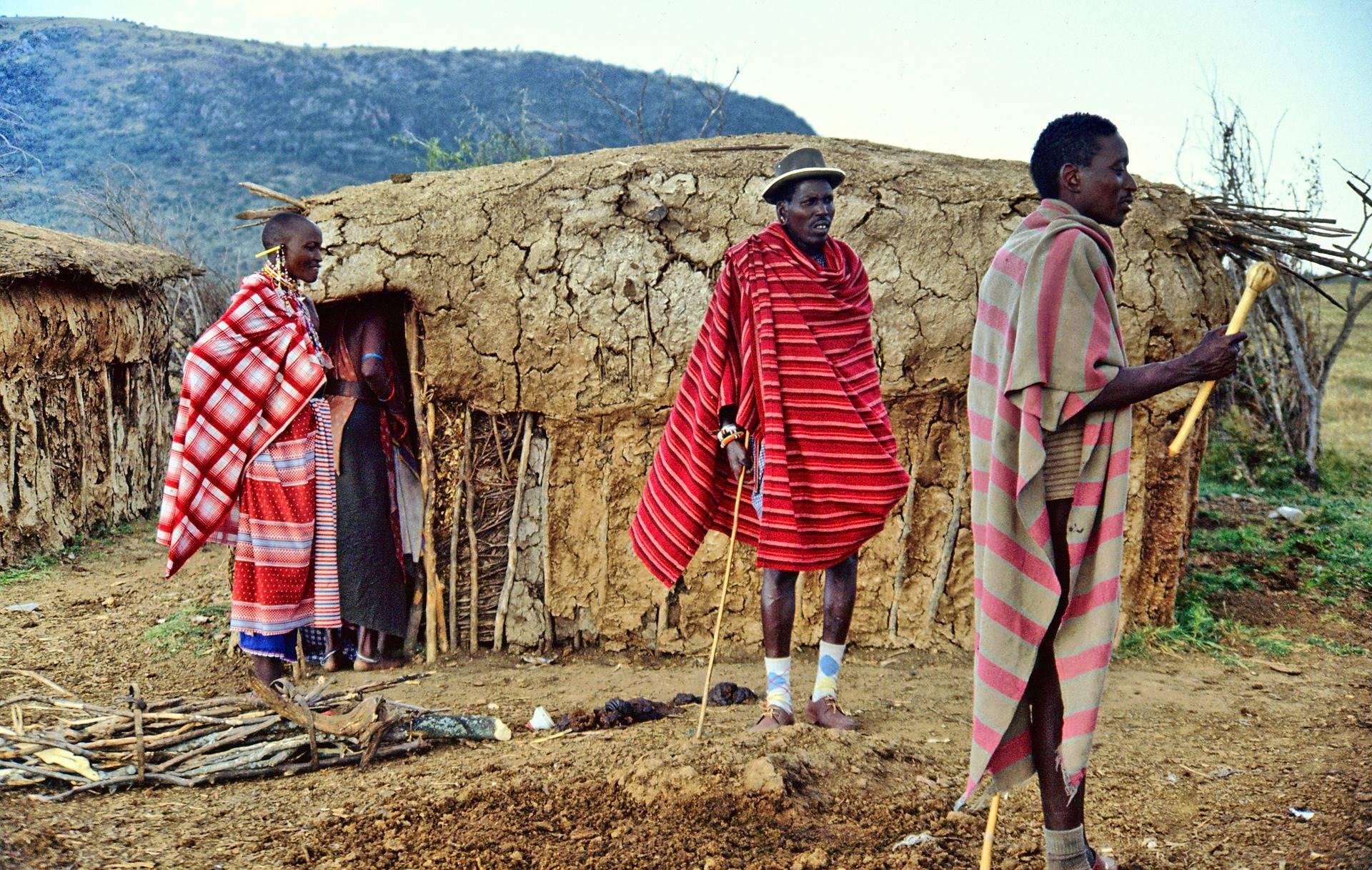 masai mara, in Kenya