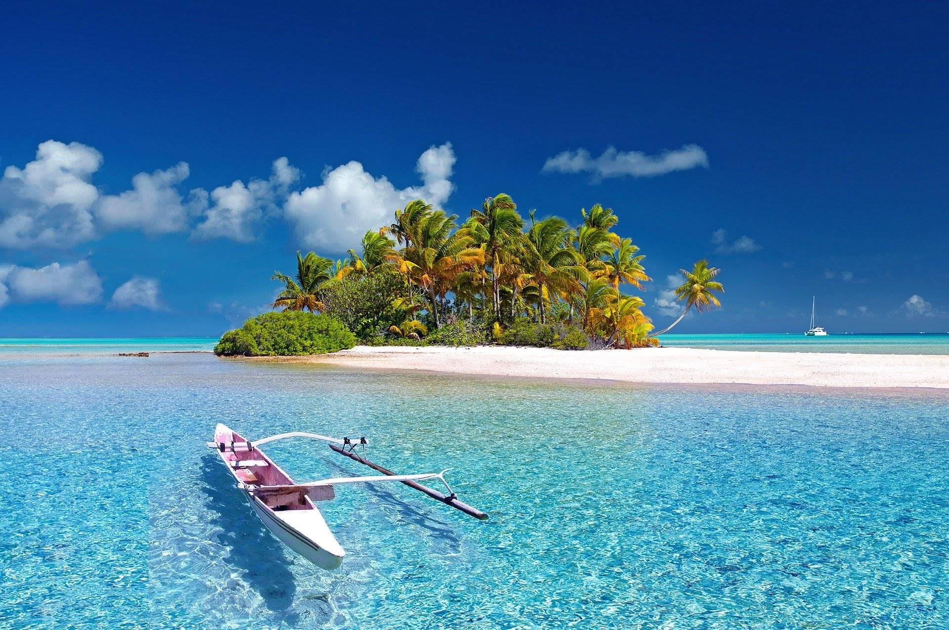 isola in Polinesia