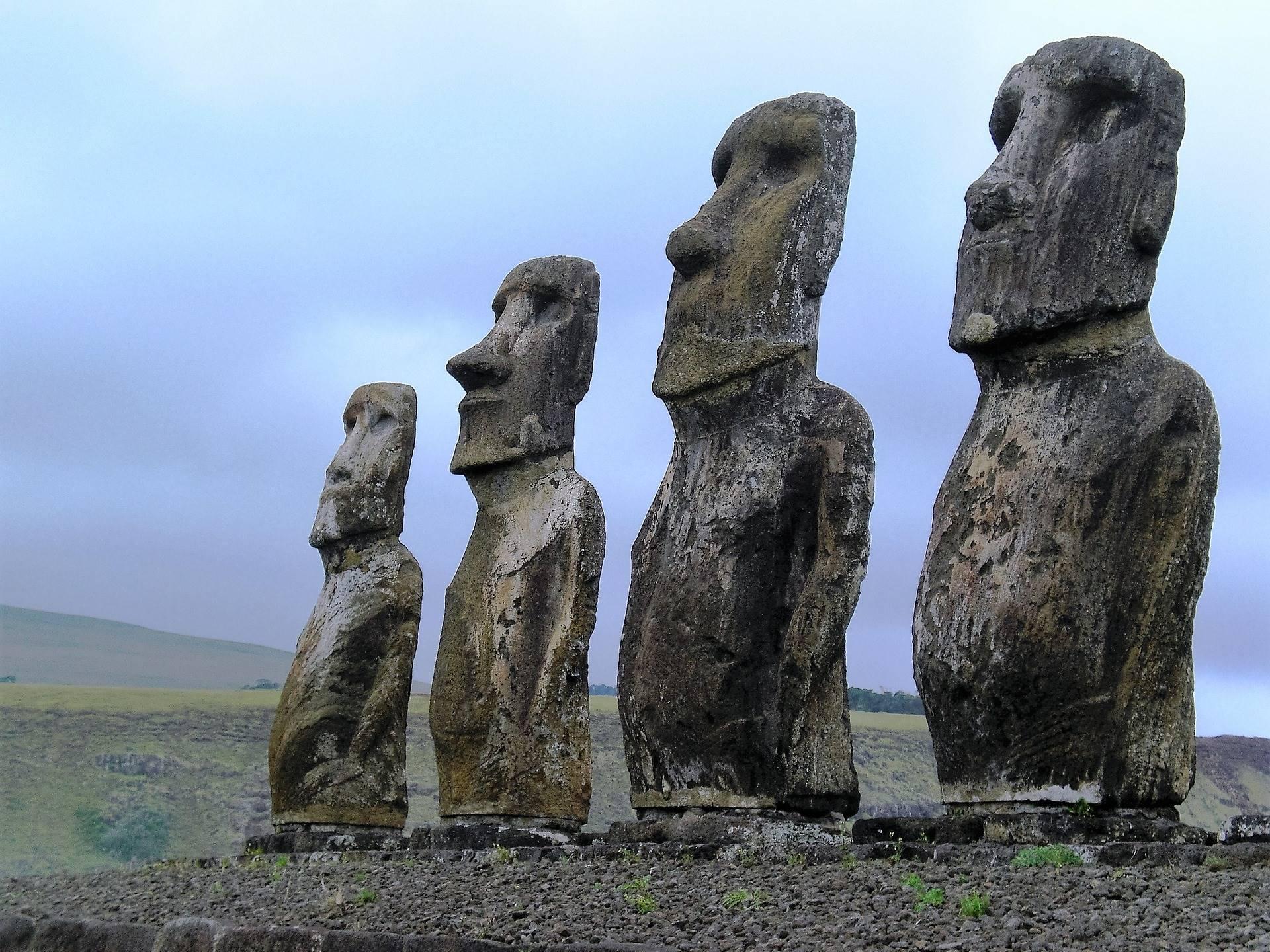 Moai, le statue dell'isola di Pasqua