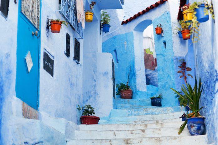 Chefchaouen città blu