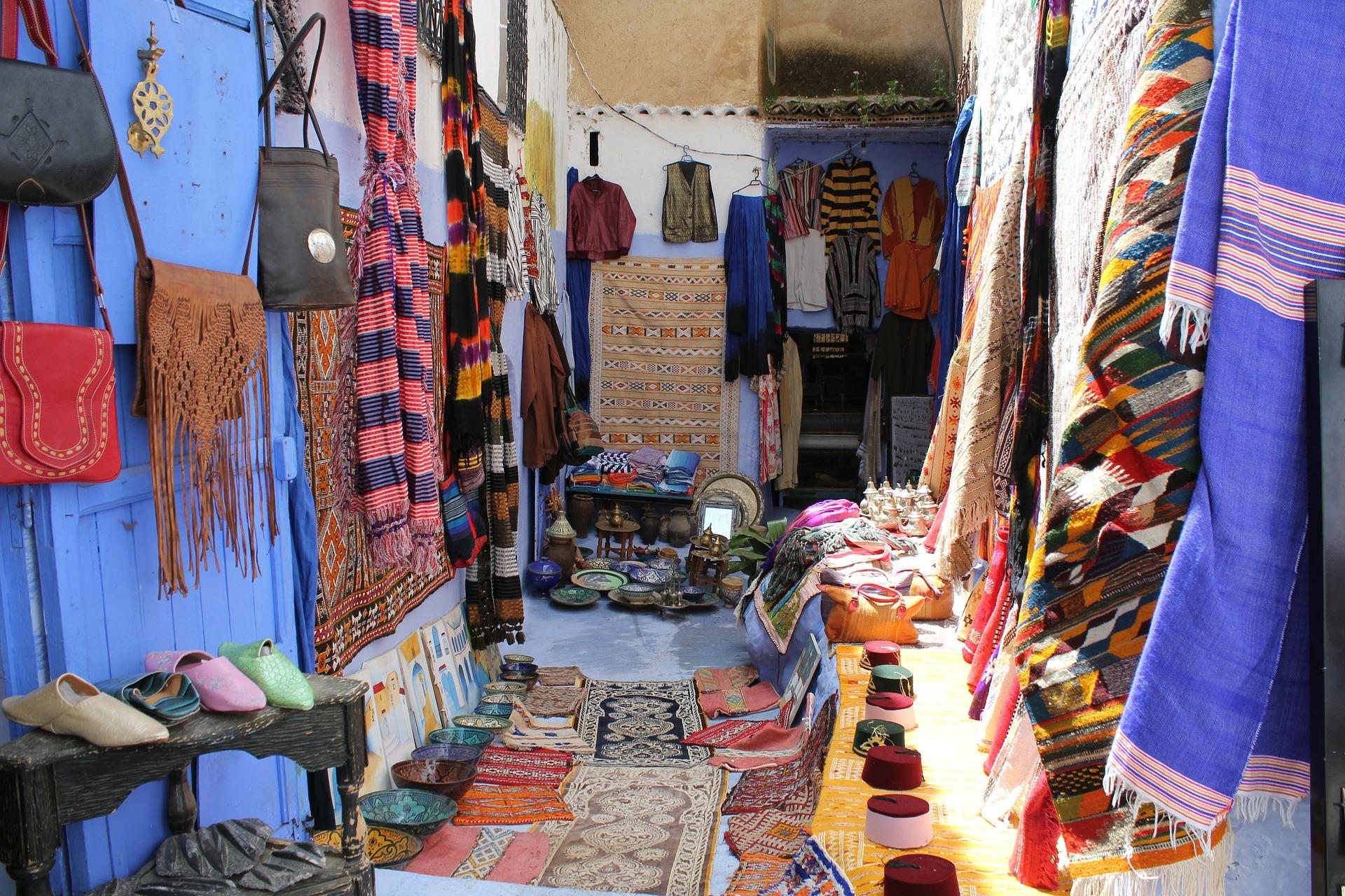 Chefchaouen mercato