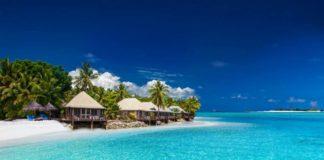 Spiaggia alle isole Fiji