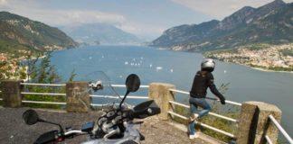 Lago di Como in moto
